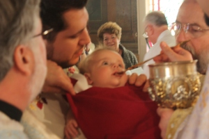 Receiving the Eucharist